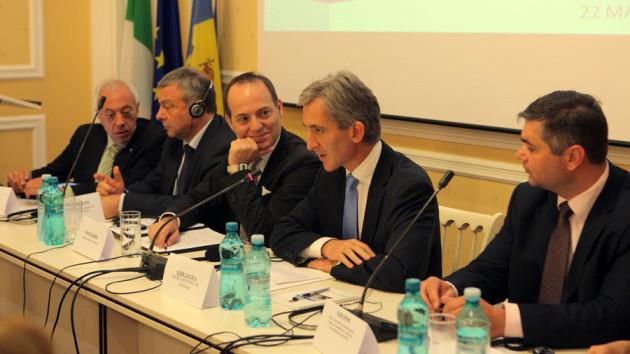 A luat start primul Forum al întreprinderilor italiene şi moldo-italiene