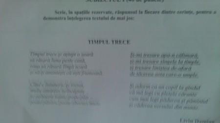 BAC 2013. Subiectele la limba română apărute pe internet la o oră de la începerea examenului