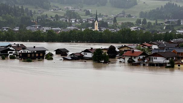 Inundații devastatoare în Cehia, Germania și Austria