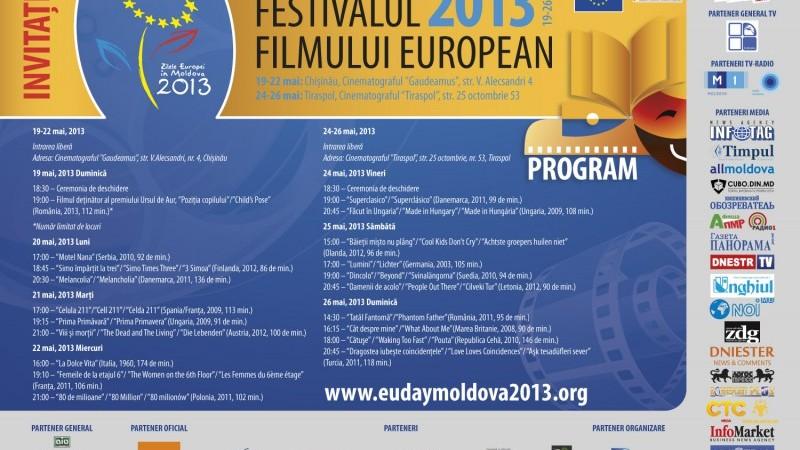 Festivalului Filmului European mai durează trei zile
