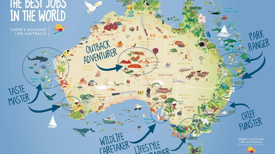 """Australia oferă """"cele mai bune job-uri din lume"""""""