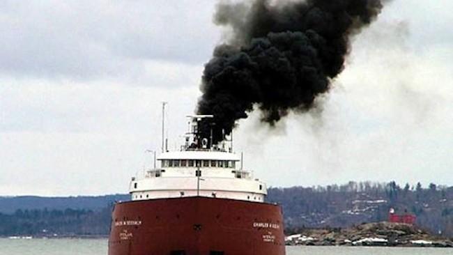 Transportul maritim participă la reducerea CO2