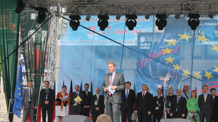 """Štefan Füle: ,,UE are capacitatea de a transforma țările și de a consolida democrațiile"""""""