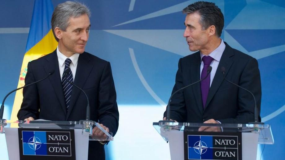 (video) Iurie Leancă la NATO: Moldova vrea să trimită trupe în Kosovo