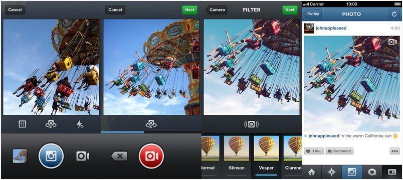 Instagram lansează opţiunea video