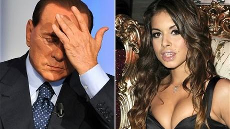 Berlusconi riscă 6 ani după gratii pentru scandalurile sexuale