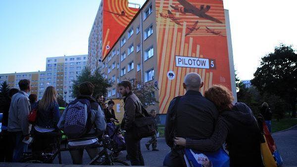 Populara artă murală poloneză se mută la Chișinău