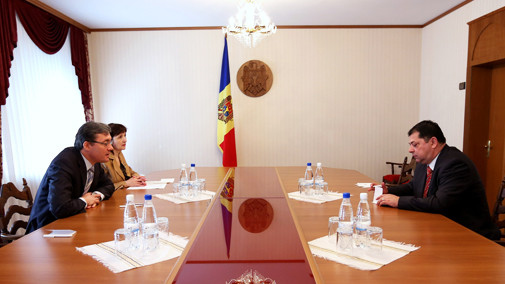 Igor Corman a avut o întrevedere cu ambasadorul Turciei