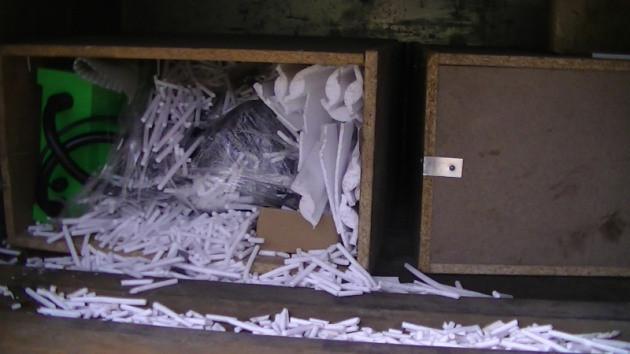 (foto, video) A vrut să treacă frontiera cu 1900 de fiole de steroizi ascunse în scaun