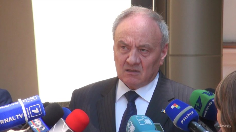 Nicolae Timofti nu va recunoaște frontiera regiunii transnistriene