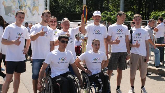 Ziua Olimpică la Chișinău cu multe premii și surprize