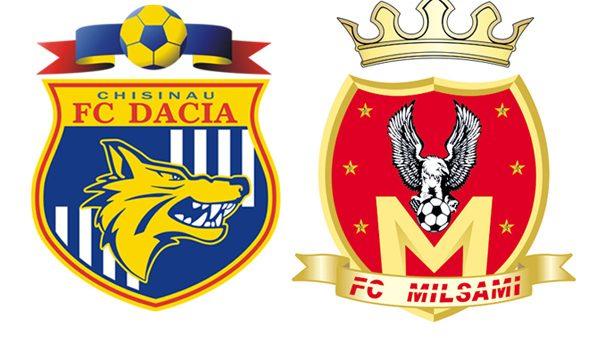 Milsami şi Dacia luptă pentru a trece în faza următoare a Ligii Europa