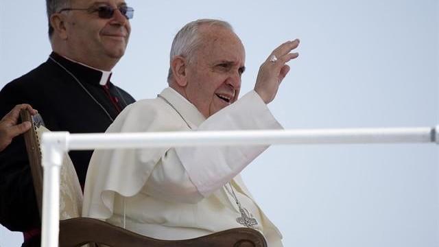 Papa Francis a făcut prima ieșire oficială din Roma