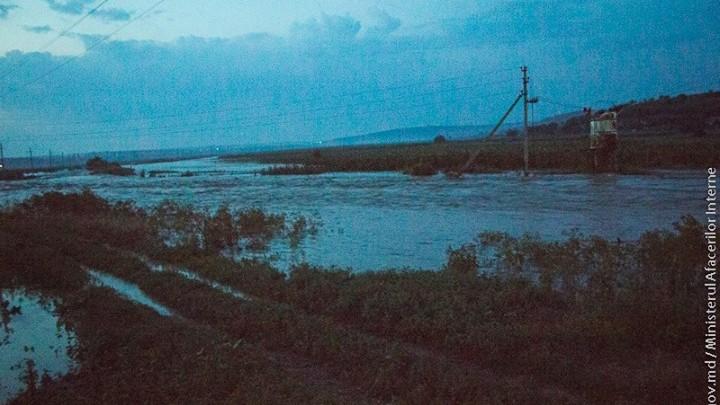 (foto,video) Consecințele ruperii digului din satul Opaci, Căușeni