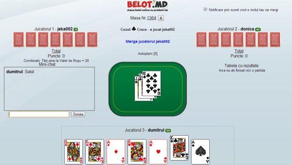 Jocul de belot accesibil online