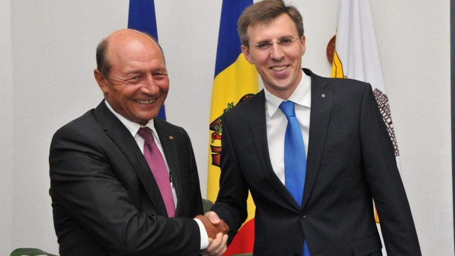 Traian Băsescu în vizită la Dorin Chirtoacă