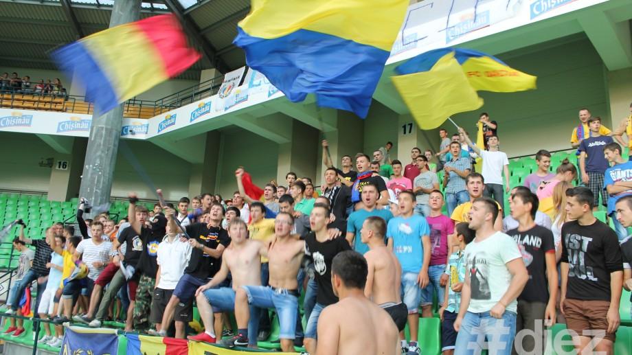 (foto) Galeria galben-albastră își va susține echipa la Odesa