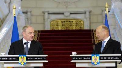 Programul lui Traian Băsescu la Chișinău