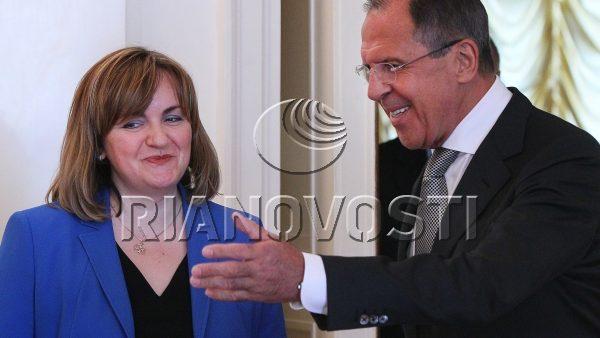 Natalia Gherman în vizită la Moscova