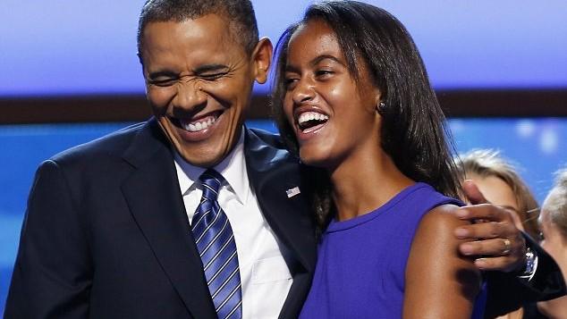 (foto) La mulți ani, Malia Obama!