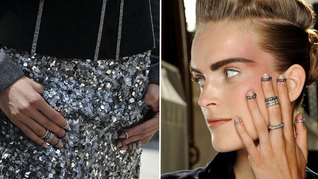 Inelul pentru unghii – noul trend promovat de Chanel