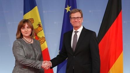 Procesul integrării europene și relațiile moldo-germane, discutate la Berlin