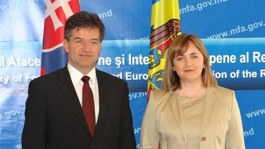 Moldova și Slovenia au semnat Declaraţia privind integrarea europeană a RM