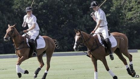 Prințul William, cu gândul la scutece mai mult decât la polo