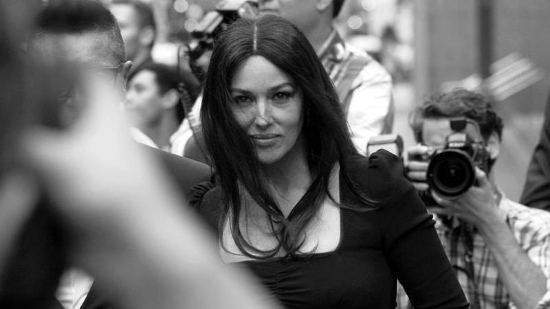Monica Bellucci se filmează într-un nou lungmetraj
