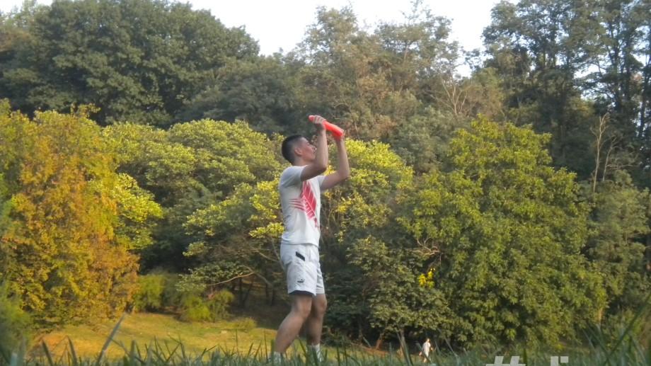 (foto) Antrenamentele la frisbee decurg cu succes