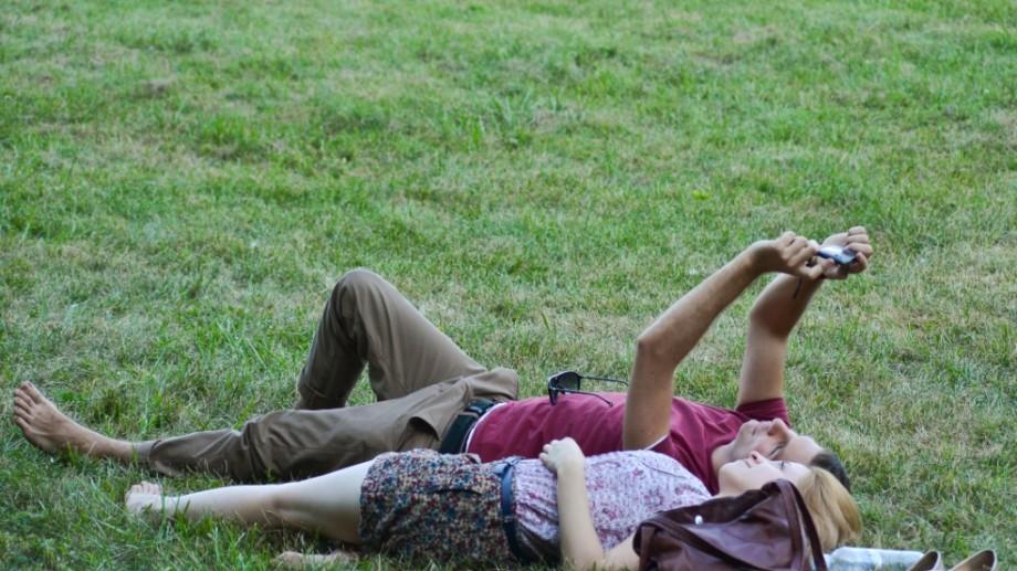 (foto) Ce fac oamenii în parcul Dendrariu?