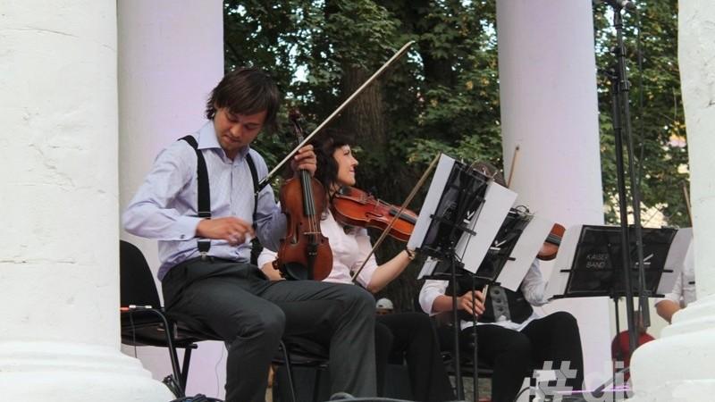 (foto) Dansuri și muzică live pentru restaurarea complexului arhitectural Rotonda