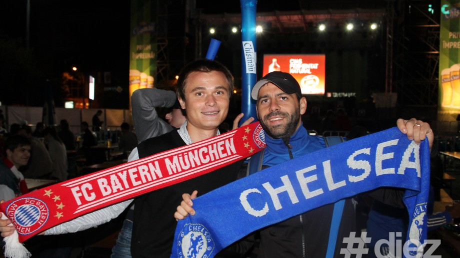 (foto) Victoria Bayern Munchen a fost sărbătorită în PMAN