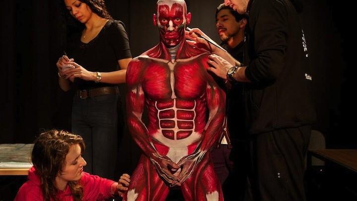(foto) Lecții de anatomie ca la arte