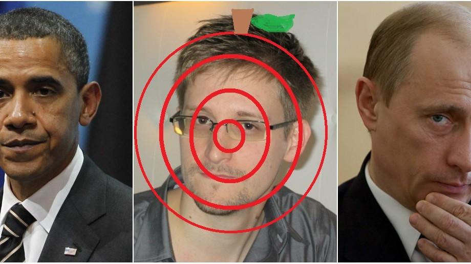 Mărul discordiei dintre Obama și Putin, se numește Snowden