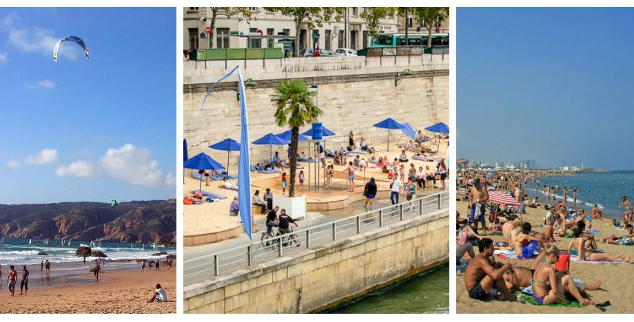 Cele mai tari plaje urbane: în ce orașe europene te poți relaxa pe șezlong