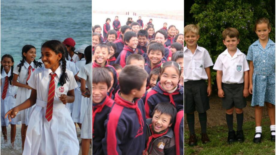 (foto) Uniforme școlare din jurul lumii