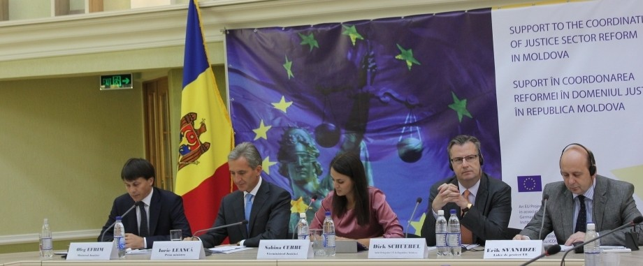 Justiţia este singura problemă majoră în apropierea R.Moldova de UE