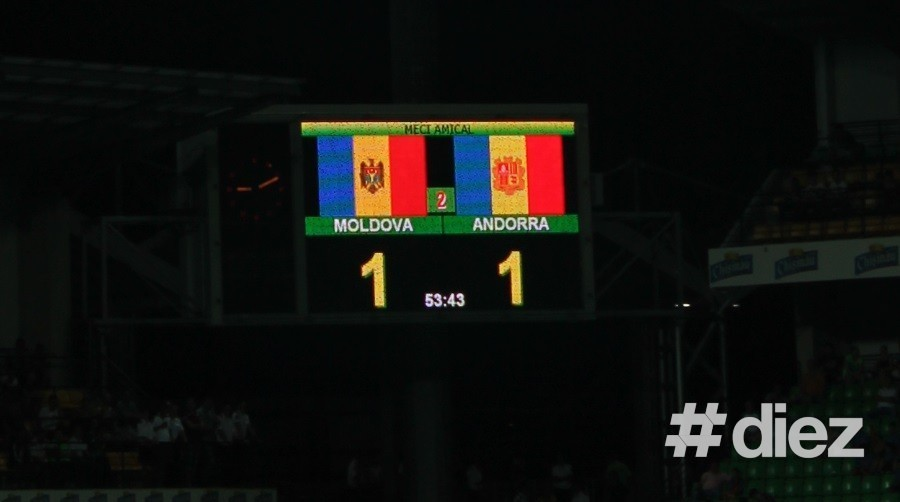 (foto) Moldova a remizat acasă cu Andorra, scor 1-1