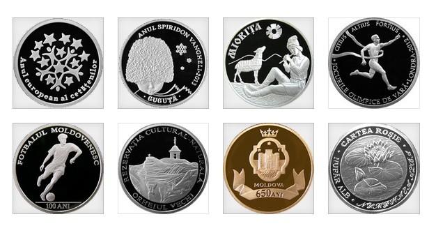 (foto) 9 cele mai cool monede comemorative emise de Banca Națională