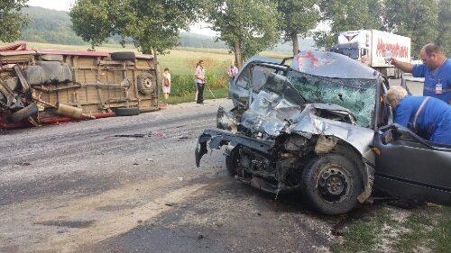 (video, foto) Accident grav la intrarea în orașul Cimișlia