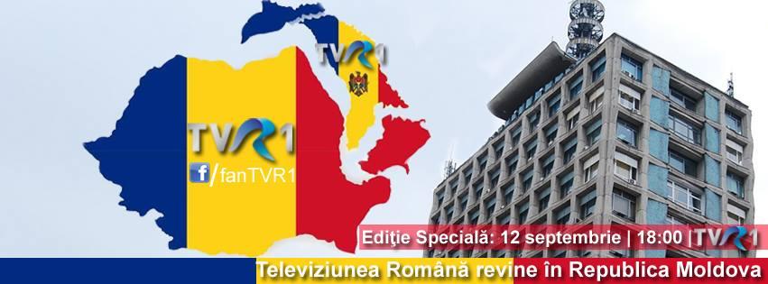 La schimb cu TVR. Moldova 1, obligatoriu pentru cabliştii din România