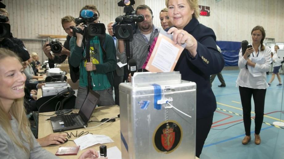 Dreapta norvegiană a învins în alegeri