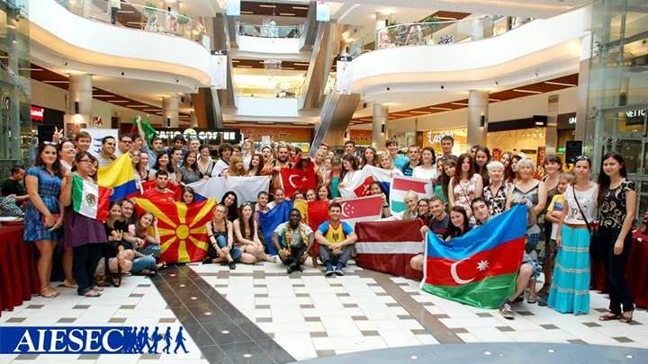 Organizația studențească AIESEC recrutează noi membri