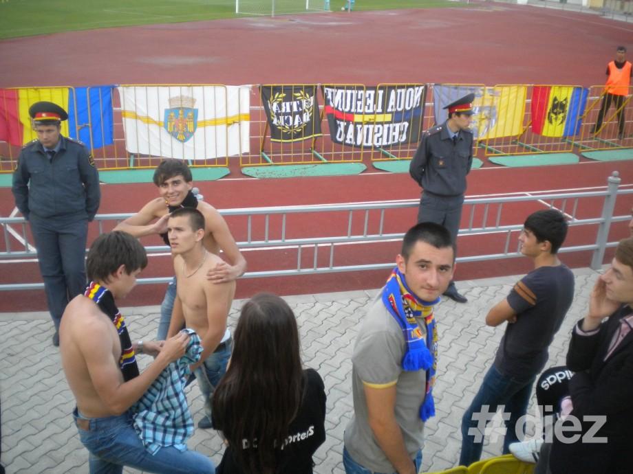 Atmosfera de la meciul Sheriff-Dacia în 22 de poze
