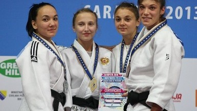 Medalie de bronz la Campionatul European la Judo
