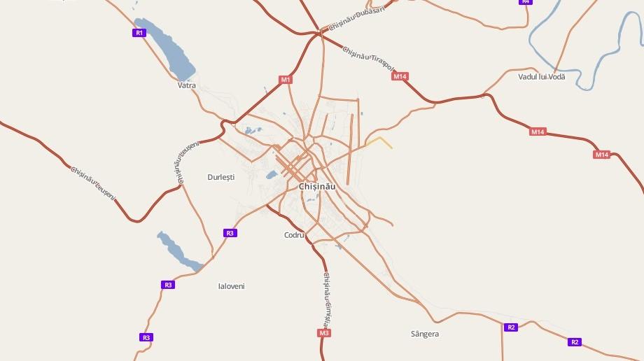 Găsiți online hărțile localităților din Moldova