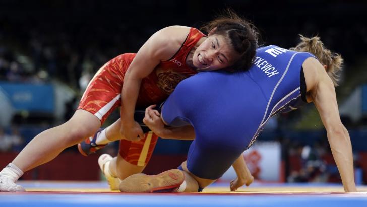 Luptele au fost reintroduse în programul Jocurilor Olimpice