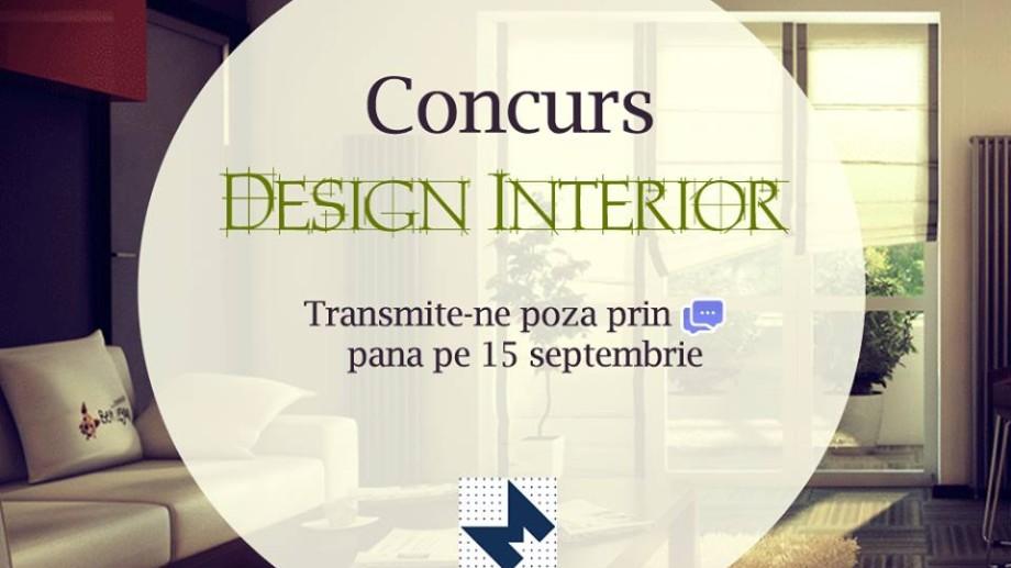 """Concurs pentru tineri ,,Cel mai bun design interior"""""""