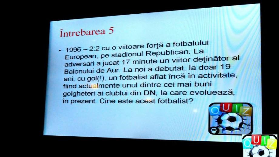 A III-a etapă de Football Quiz